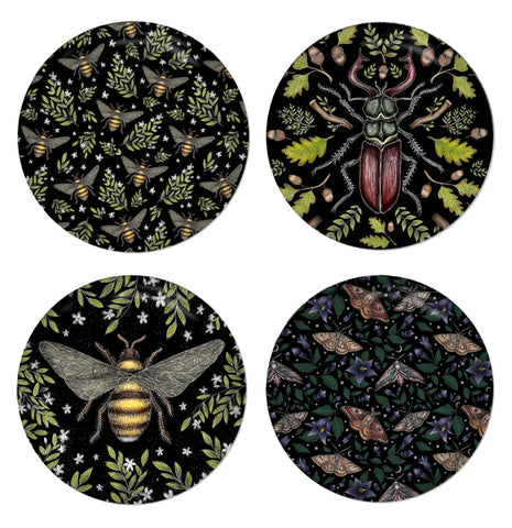Insects Coaster Set - Made to Order in London