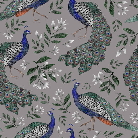 Peacock Pattern Wallpaper