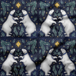 Polar Bears Fabric