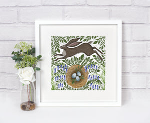 Spring Hare Print
