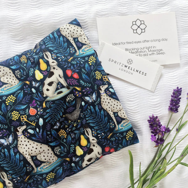 Aromatherapy Liberty Print Eye Pillow by Spritz Wellness - Winning Liberty Open Call Design - Catherine Rowe