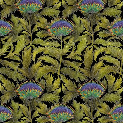 Artichoke Thistle Wallpaper