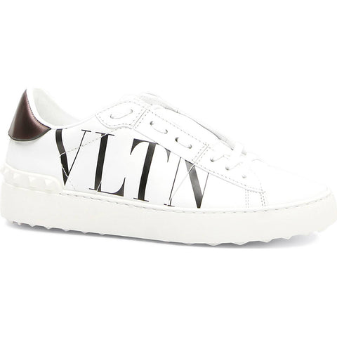 Fancy Lace-Up Sneaker white