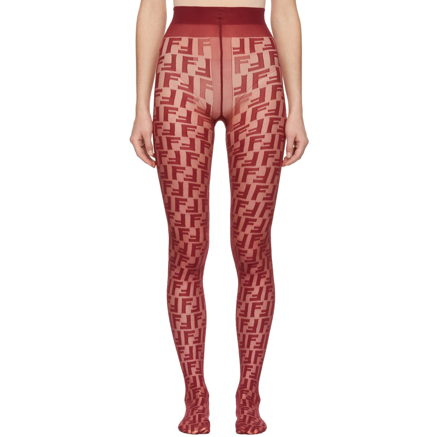 FF red logo tights