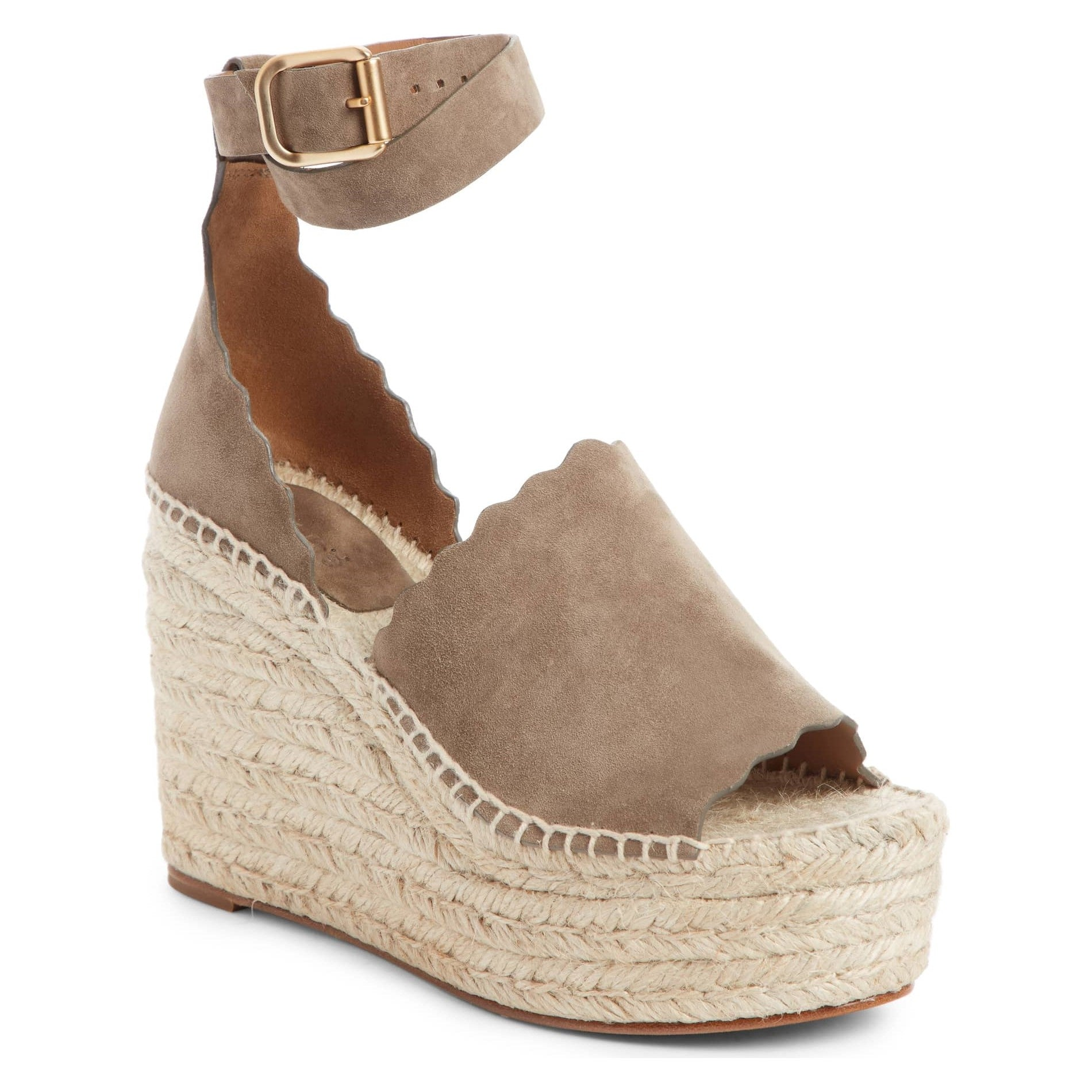 lauren espadrilles brown