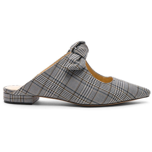 evelyn flat plaid