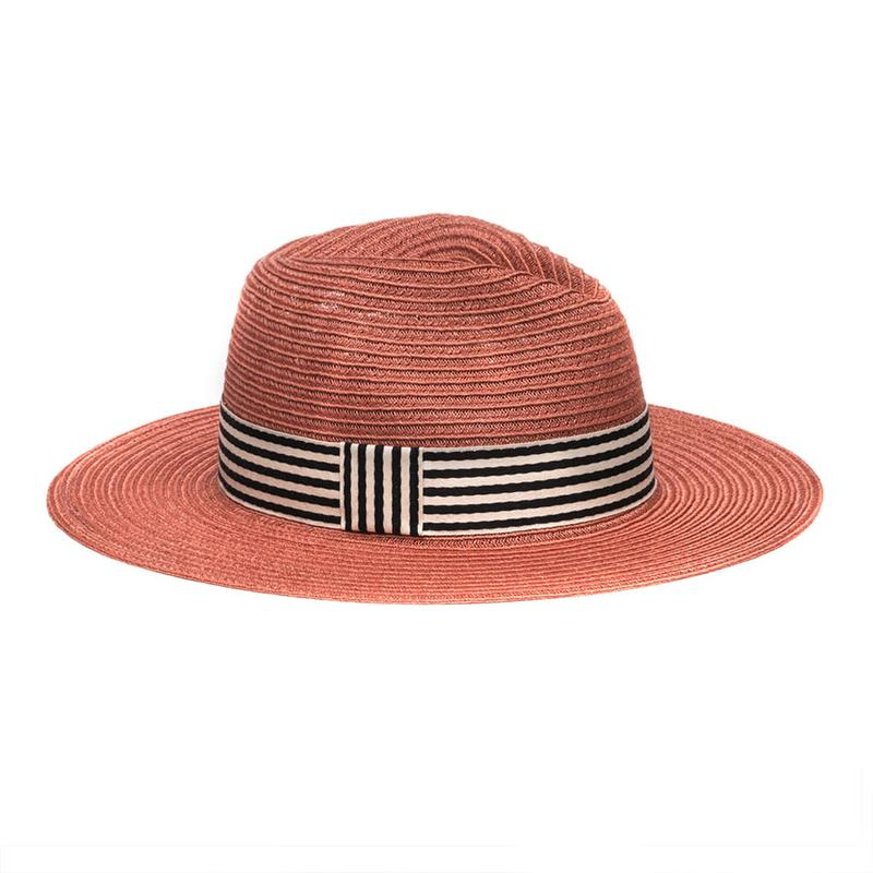 courtney hat terracotta