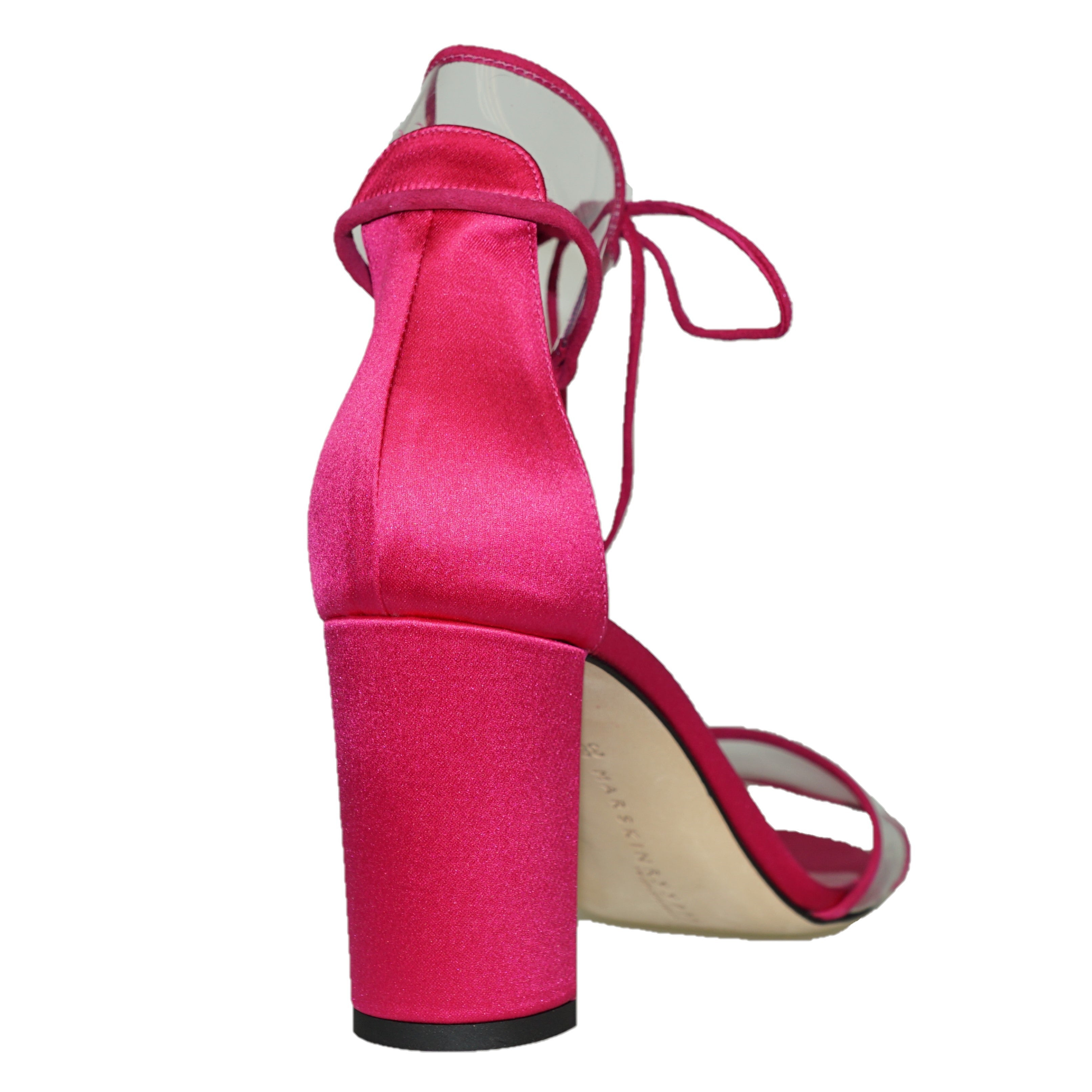 MARSKIN RYYPPY Cora satin and PVC sandals