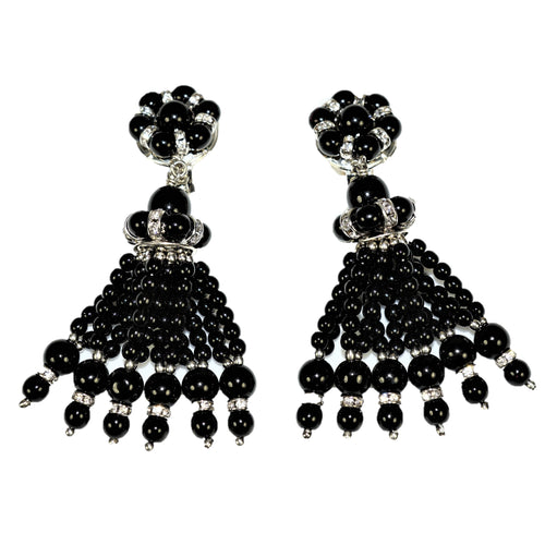Parisian Earrings drop black