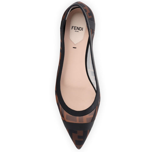 FF skimmer flats brown black