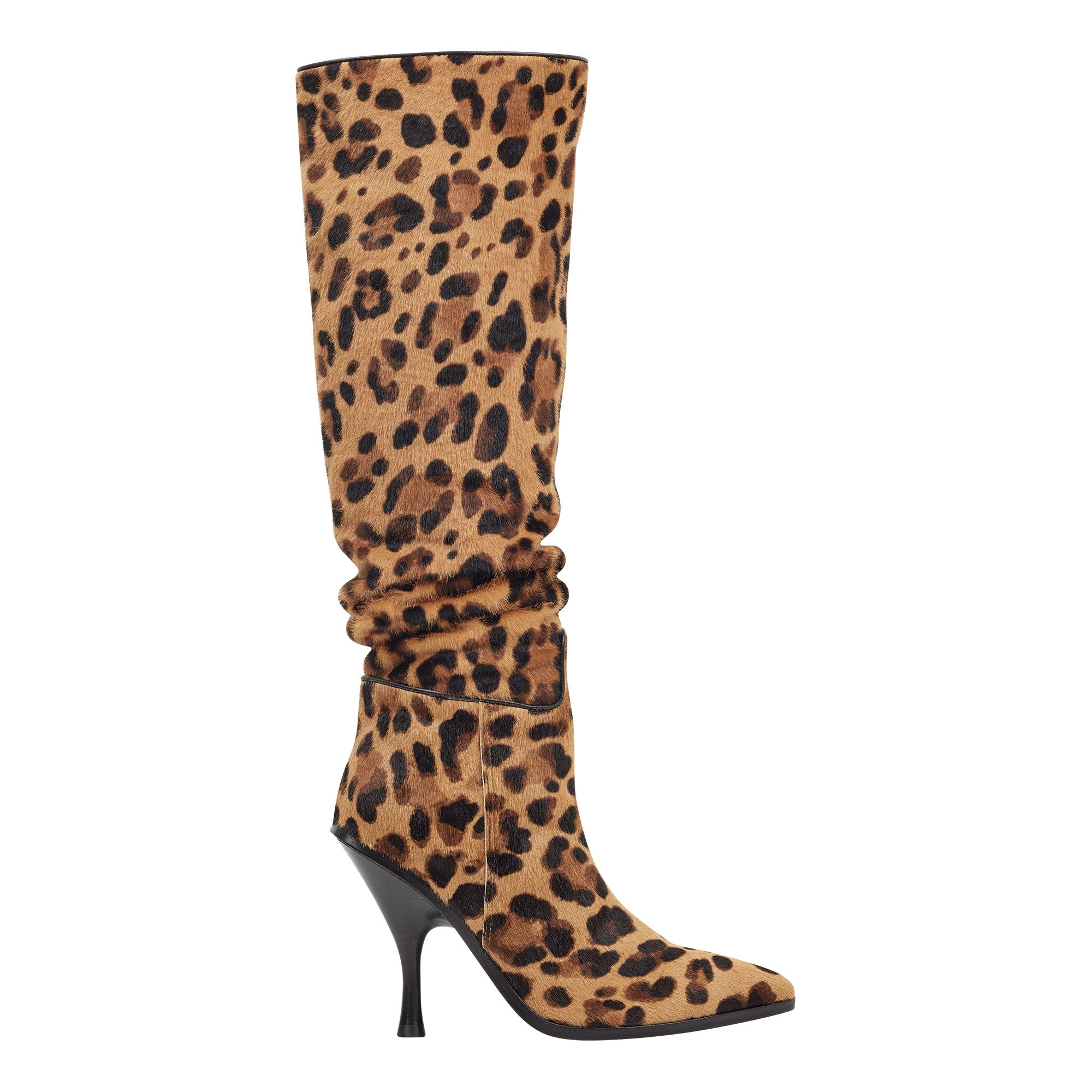 haliey leopard high boot