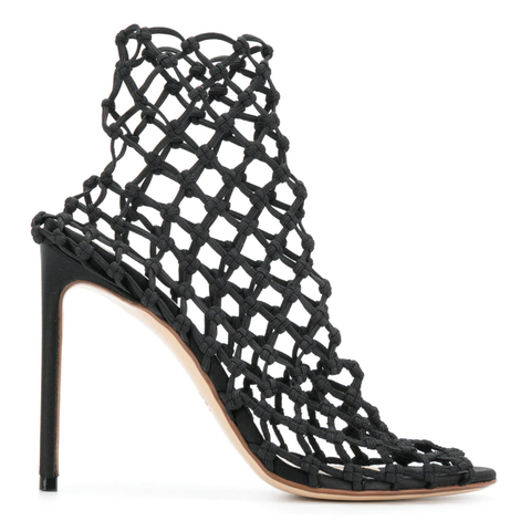 Draconia Sandals black patent