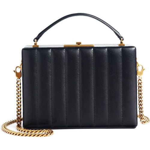 nan box quilted bag black
