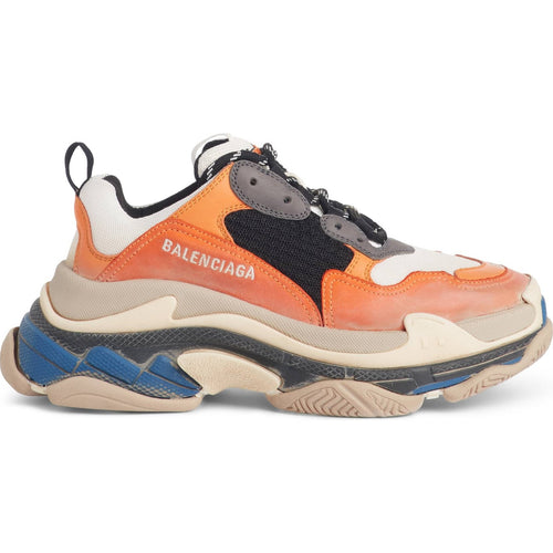triple S sneakers sable orange