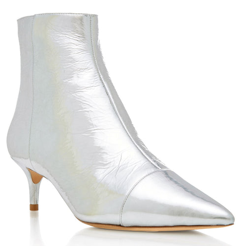 kittie boot silver