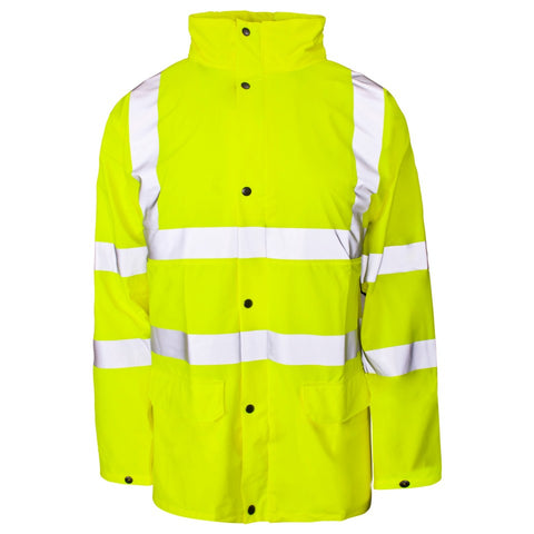 Supertouch Hi Vis Yellow PU Jacket