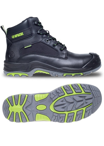Apache ATS Dakota Safety Boot Black