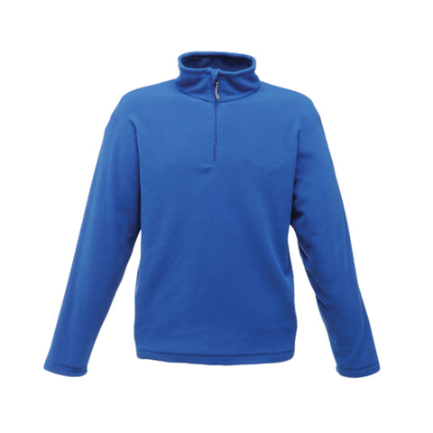 Regatta Mens Micro Zip Neck Royal