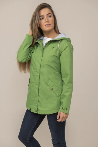Lighthouse Ladies Tori Waterproof Breathable Jacket Meadow Green