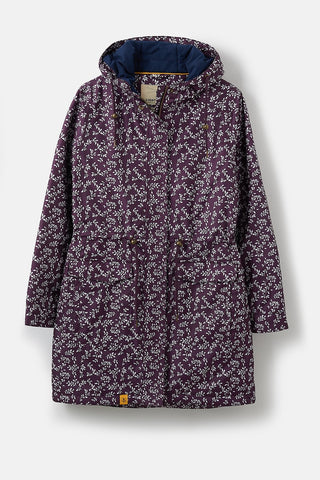 Lighthouse Ladies Lauren Waterproof Breathable Jacket Blackcurrant