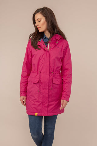 Lighthouse Ladies Lauren Waterproof Breathable Jacket Pink