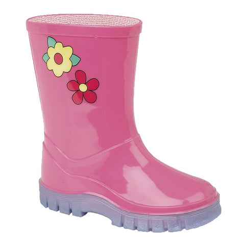Kids Flower Welly