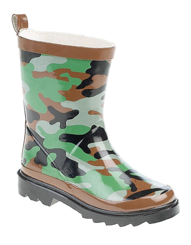 Kids Camo Welly