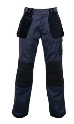 Regatta Holster KneePad Work Trousers Navy