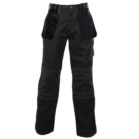 Regatta Holster KneePad Work Trousers Black