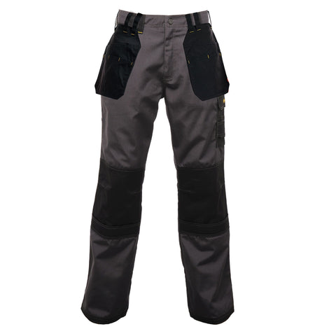 Regatta Holster KneePad Work Trousers Grey