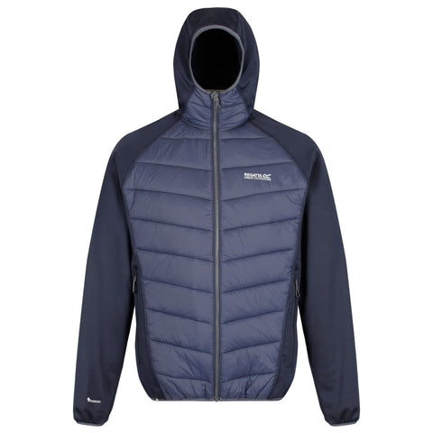 Regatta Mens Andreson IV Hybrid Jacket Navy RRP €80