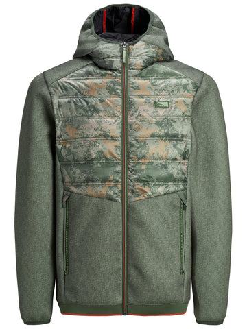 Jack & Jones JCOTOBY Camo Green