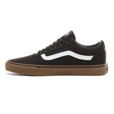 Vans Mens Ward Canvas Black Gum