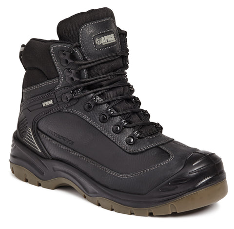 Apache Ranger Safety Boot Black