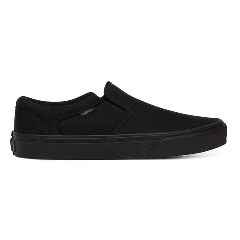 Vans Mens Asher Shoe - Black