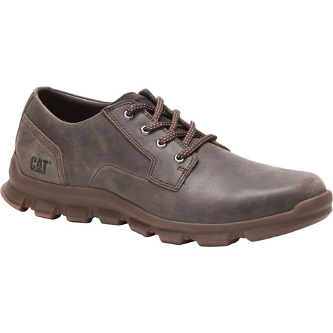 Caterpillar P723249 Intent Leather Shoe Dark Brown