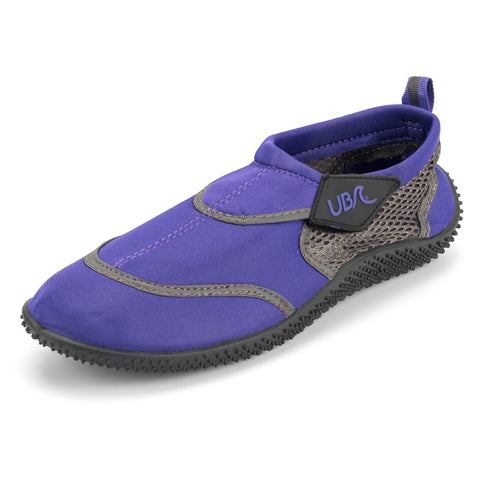 Urban Beach Ladies Toggle Aqua Shoe FWR1127 Purple (3 - 8)