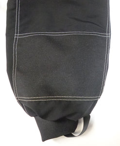 Cordura bottom front legs