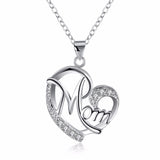 Love Mom Necklace