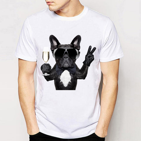 Chillin French Bulldog T Shirts