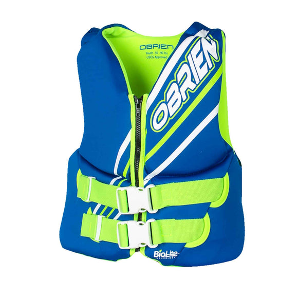 Obrien Blue Youth Vest