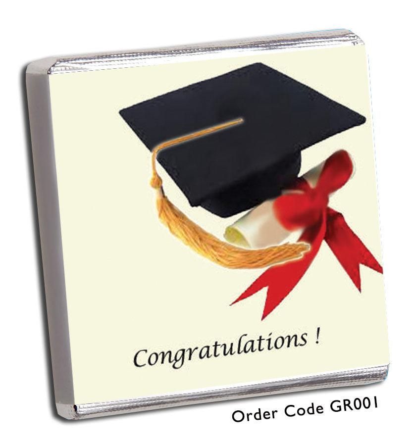 Graduation Celebration Chocolates - Chunky Monkey Chocolate