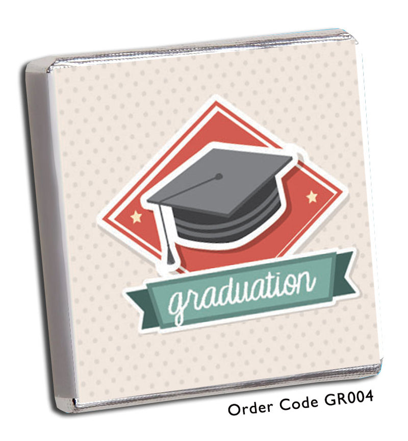 Modern Graduation Design Favours - Chunky Monkey Chocolate