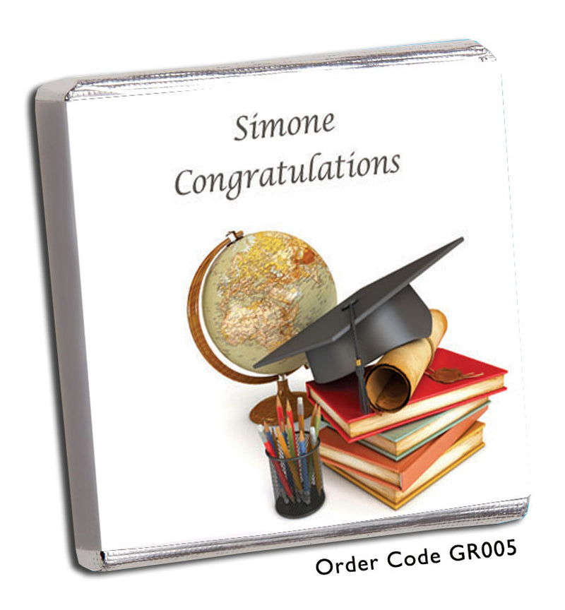Vintage Graduation Favours - Chunky Monkey Chocolate