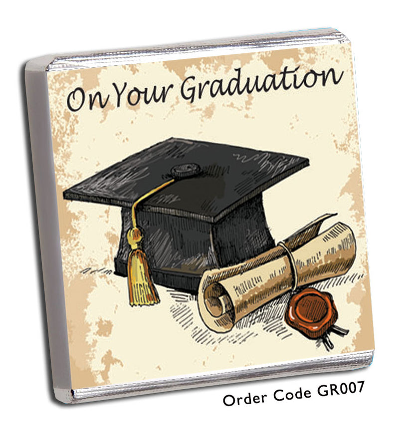 Traditional Graduation Favour - Chunky Monkey Chocolate