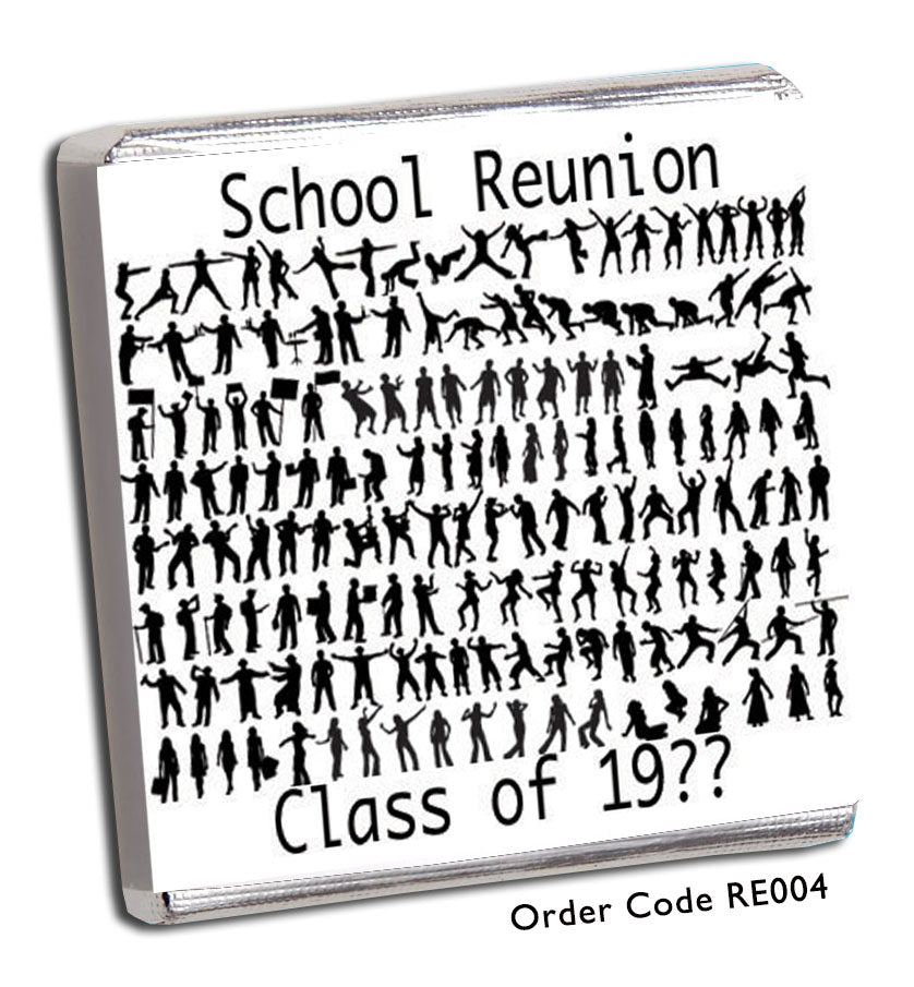 Copy of Disco Themed School Reunion Favours - Chunky Monkey Chocolate