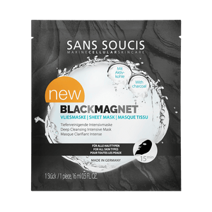 Sans Soucis Black Magnet Sheet Mask