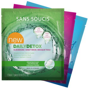 Sans Soucis Mixed Sheet Masks - 3 Pack Bundle
