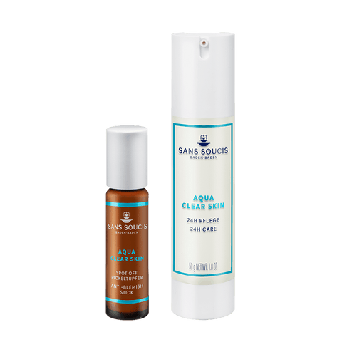 Sans Soucis Aqua Clear Skin Emergency Pack - Oily Skin