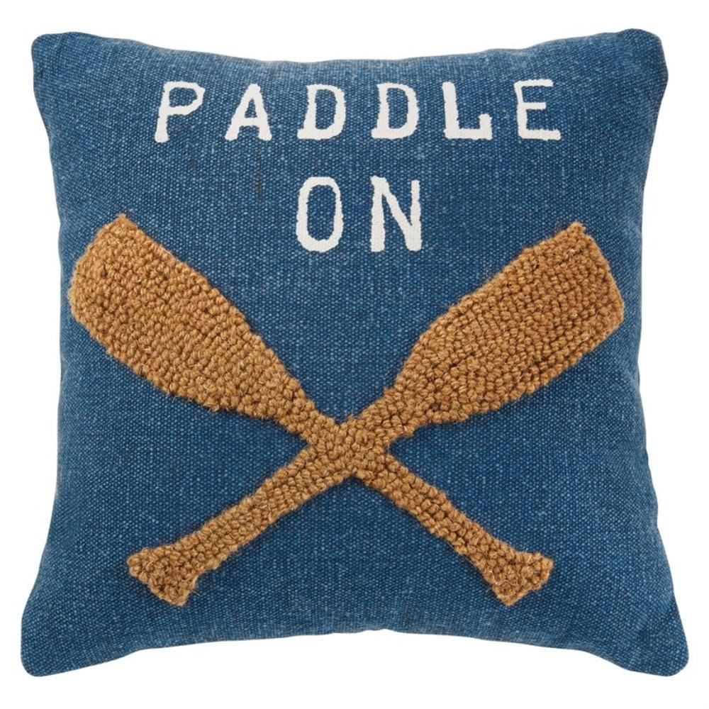 Paddle On Raised Hook Pillow